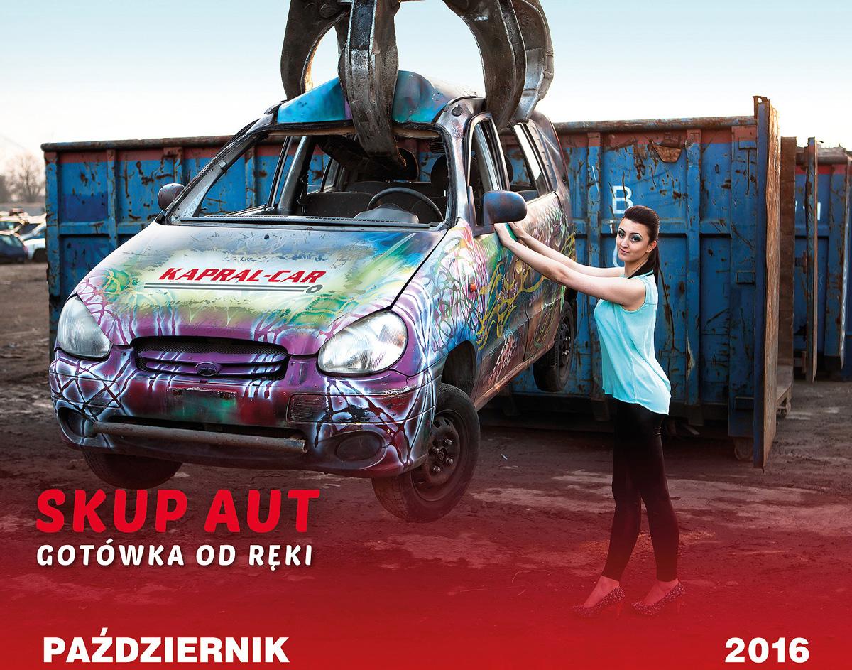 Kalendarz Kapral-Car 2016 Agnieszka