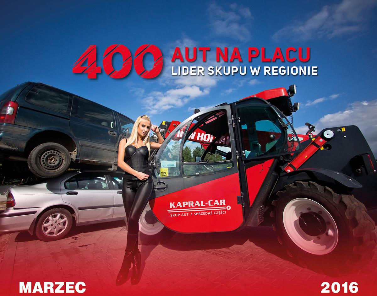 Kalendarz Kapral-Car 2016 Aneta
