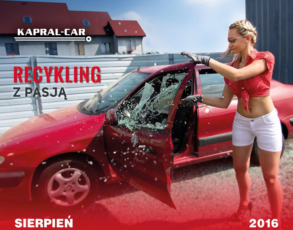 Kalendarz Kapral-Car 2016 Dominika