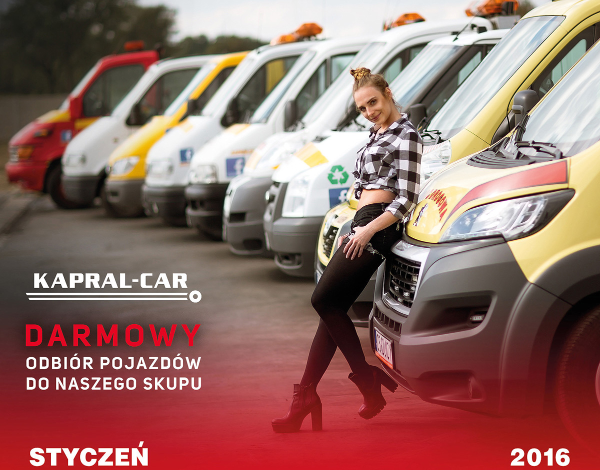 Kalendarz Kapral-Car 2016 Julia