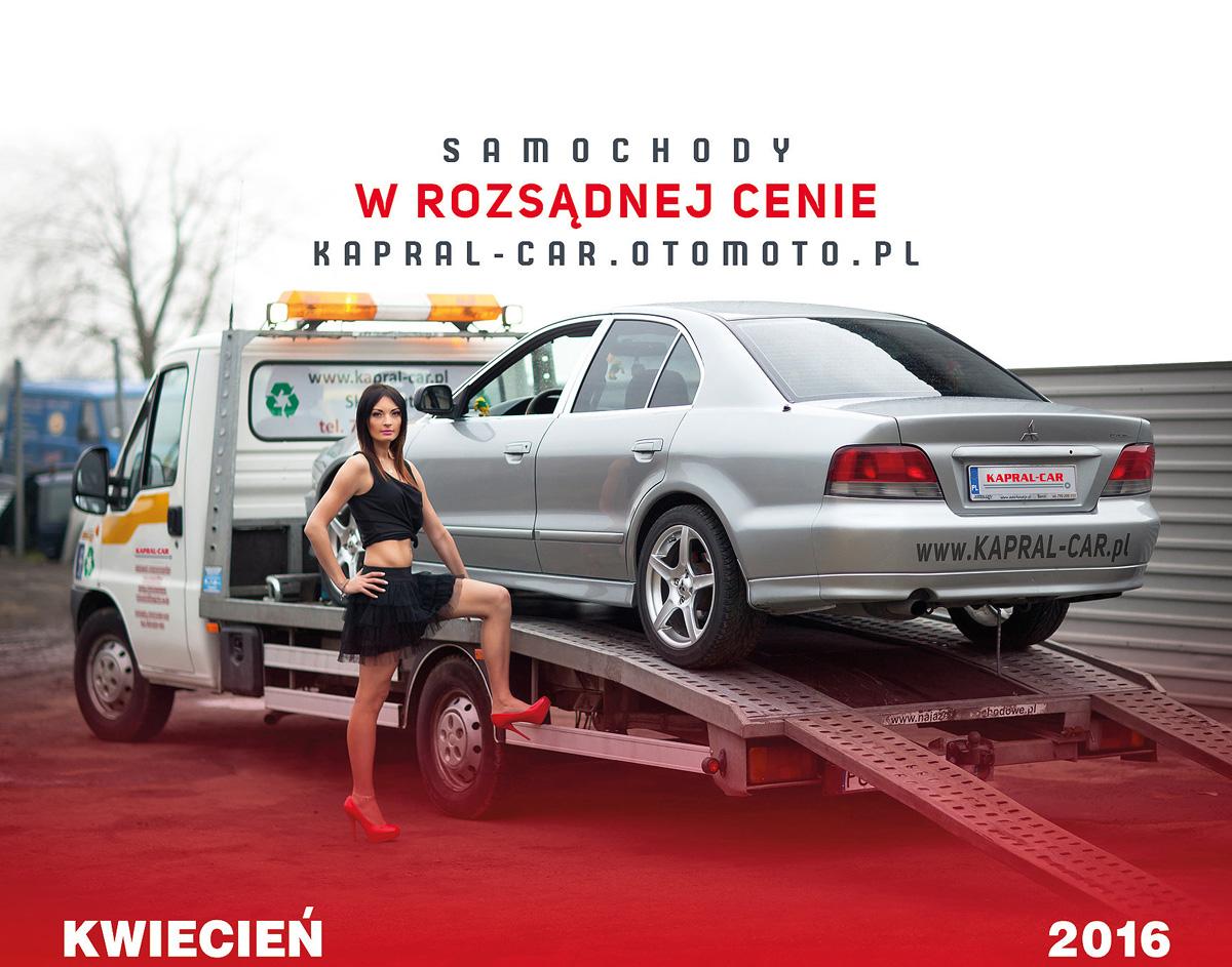 Kalendarz Kapral-Car 2016 Magda K