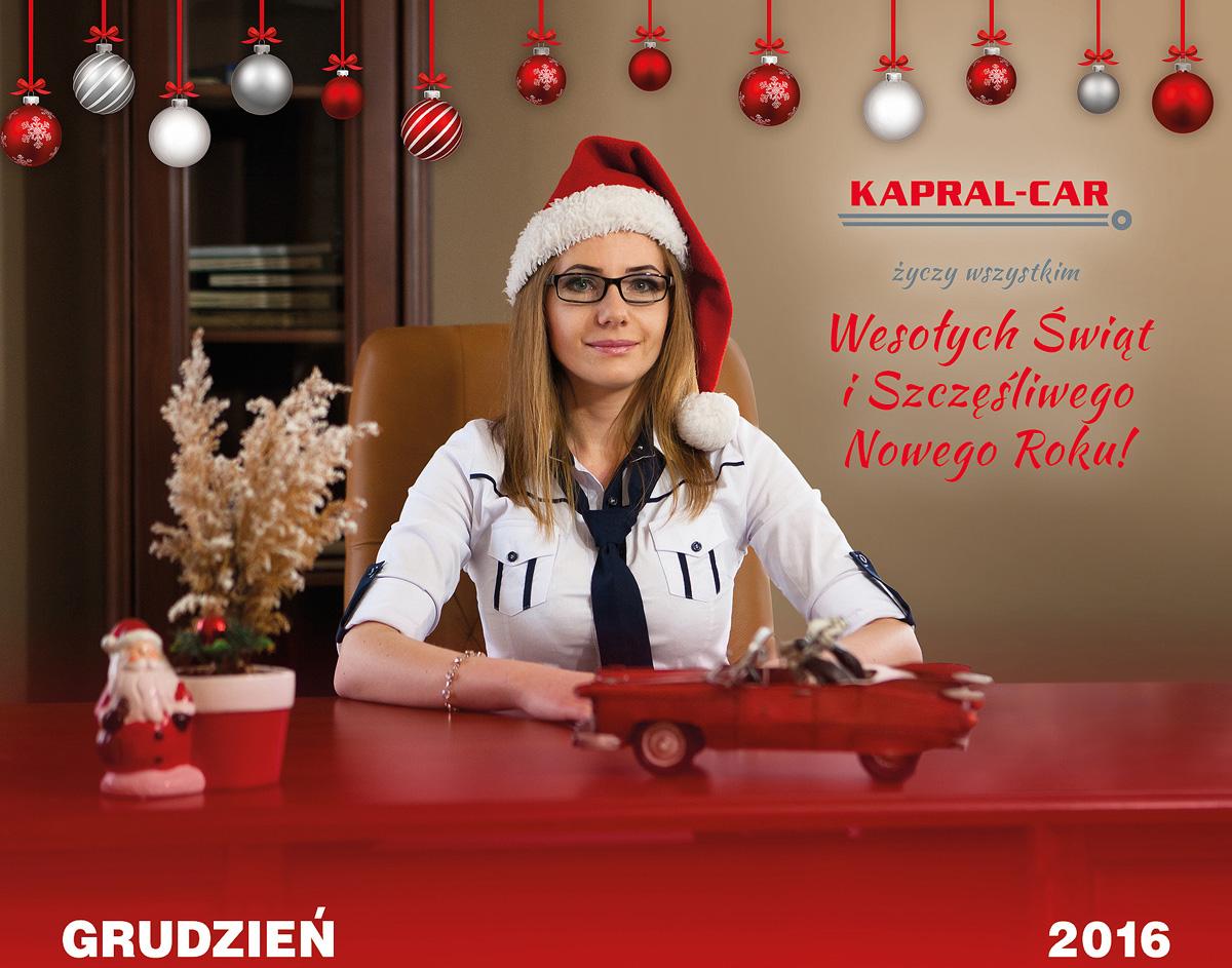 Kalendarz Kapral-Car 2016 Magda L