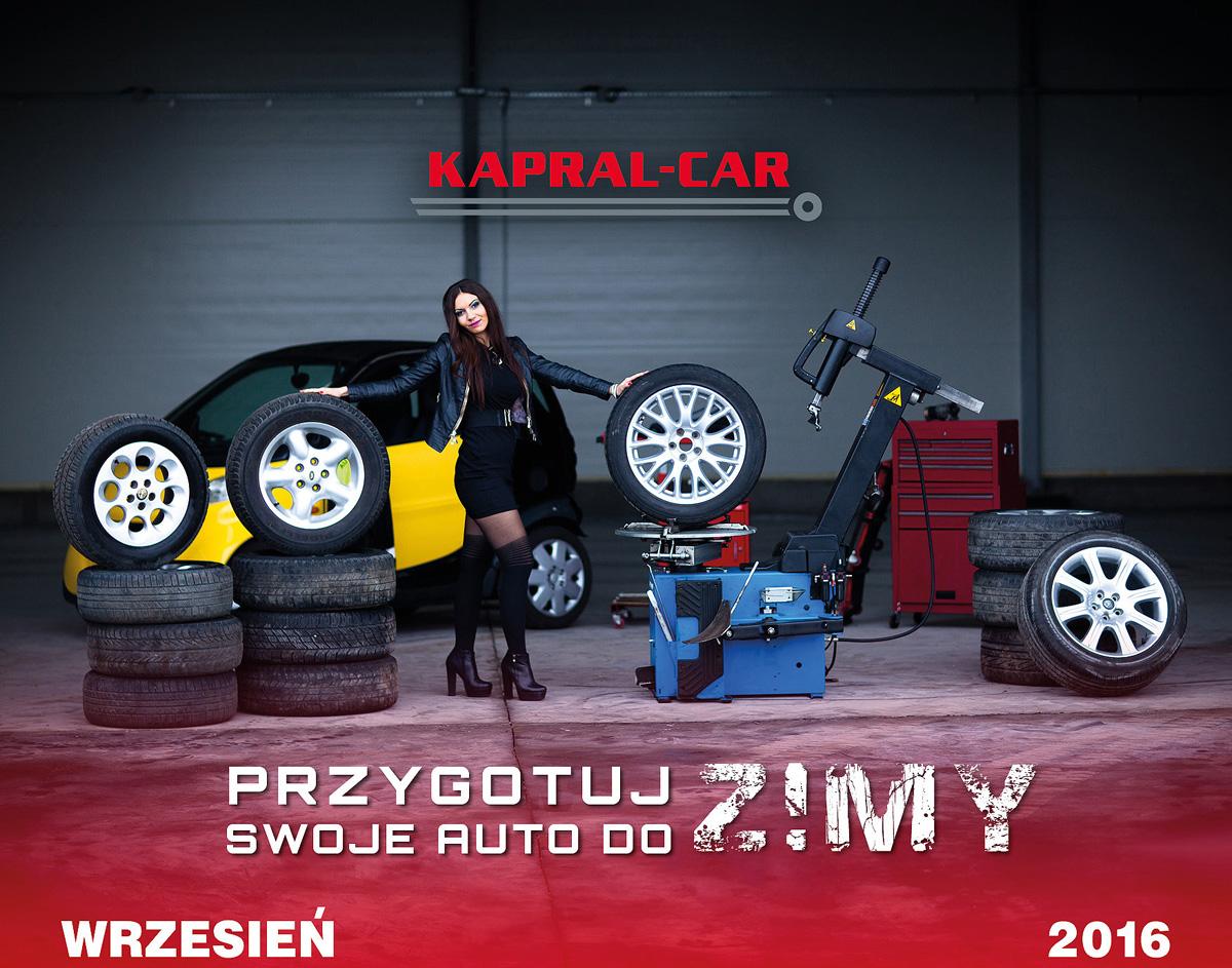 Kalendarz Kapral-Car 2016 Malwina