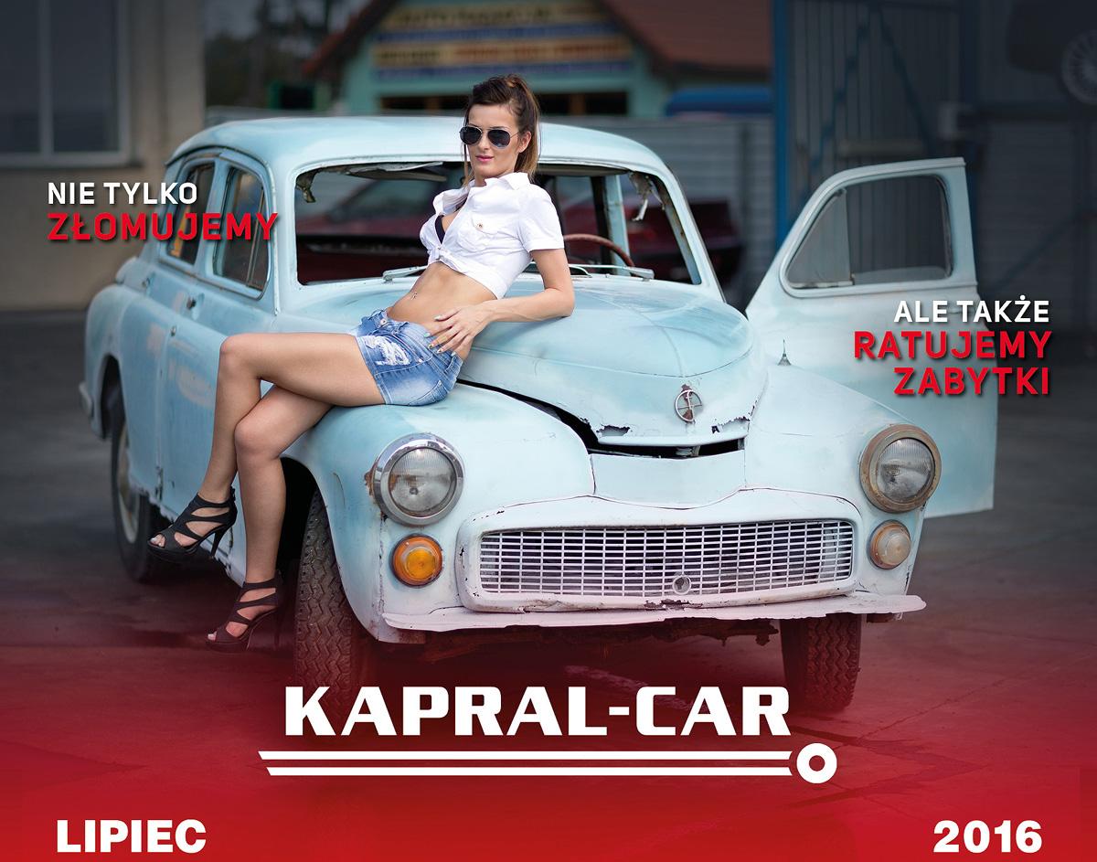 Kalendarz Kapral-Car 2016 Marika C