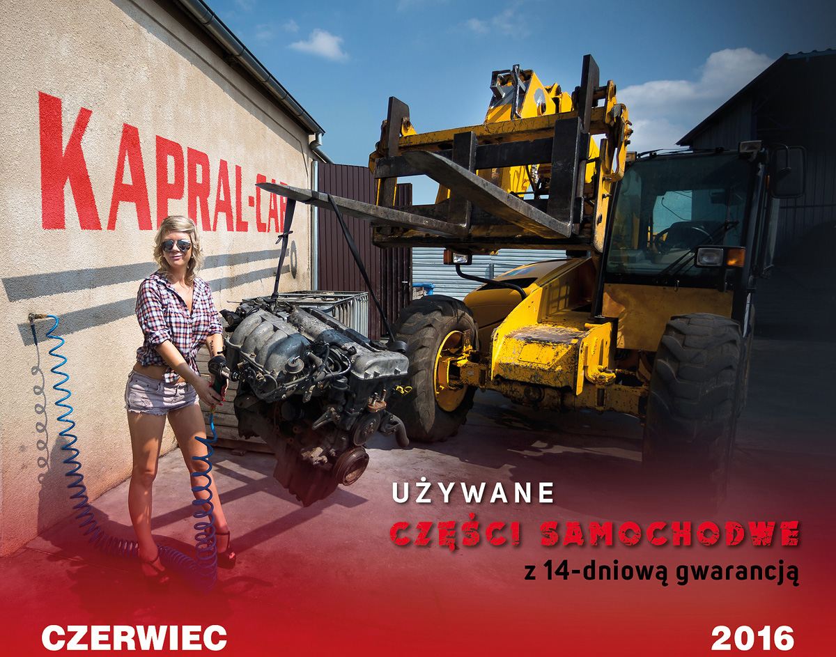 Kalendarz Kapral-Car 2016 Marika L