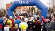 Bieg dębowy - zawodnicy przed startem