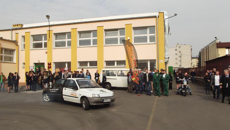 Kapral-Car na pokazach w trakcie Dni Otwartych w Szkole Samochodowej w Bydgoszczy