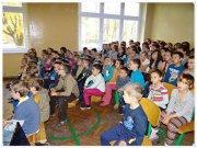 akcja bezpieczna droga - spotkanie w szkole