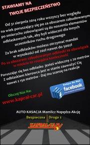 Kapral-Car i prawo związane z odblaskami