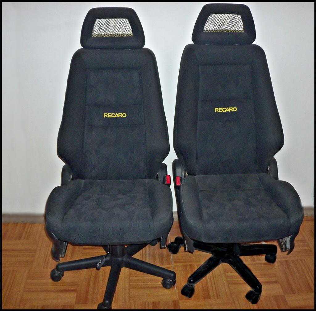 Fotel biurowo - rajdowy