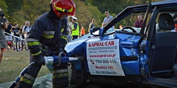 Widoczni Bezpieczni w Myślęcinku z Kapral-Car