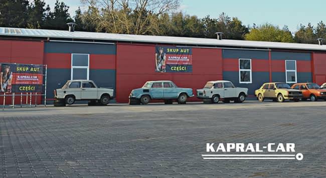 skup aut i kasacja, złomowanie pojazdów kapral-car - zabytki